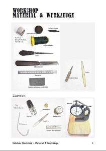 Material und Werkzeuge Teaser